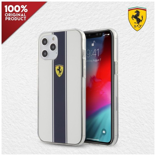 Case iPhone 12 Pro Max Ferrari On Track PC TPU N. Str White