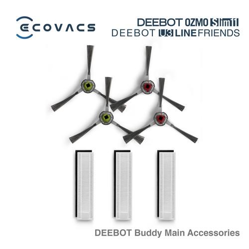 Ecovacs Aksesoris DEEBOT Buddy OZMO Slim11 / U3 Line Friends ( Main Accessories )