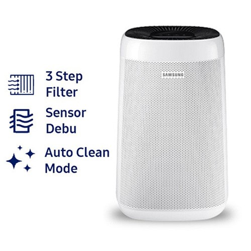 Samsung Air Purifier with 4 Color Indicator AX34R3020WW/SE - White