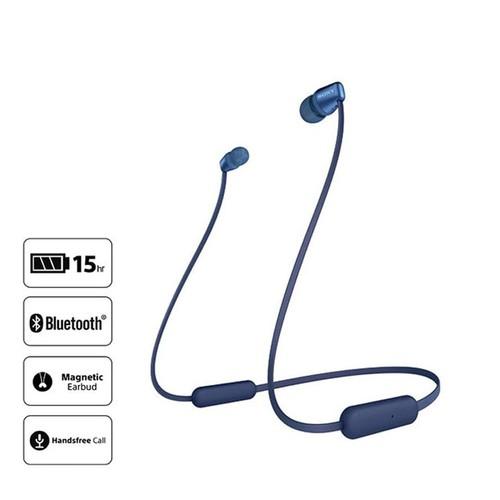 Sony In-ear headphone Nirkabel WI-C310/L - Blue