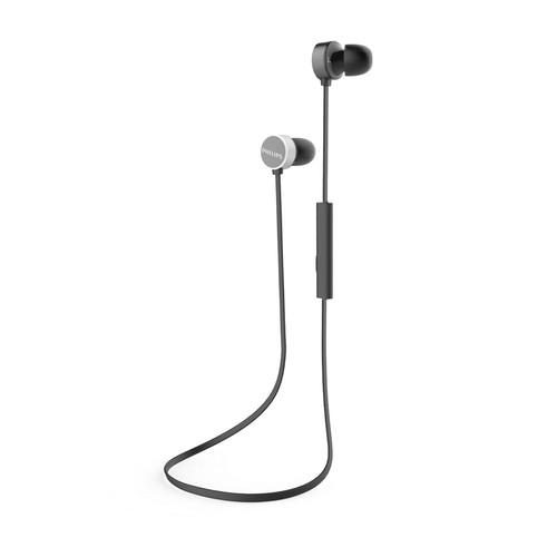 Philips Wireless Headphone With Mic TAUN102BK - Black