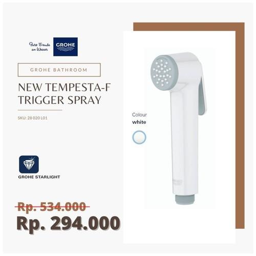 GROHE 28020L01 - New Tempesta-F Trigger Spray White / Jet Spray Putih