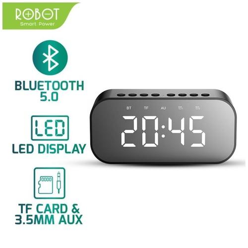 ROBOT RB550 Bluetooth Speaker Wireless LED Alarm Clock