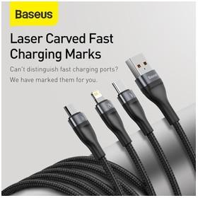 BASEUS Kabel Data 3in1 Fast