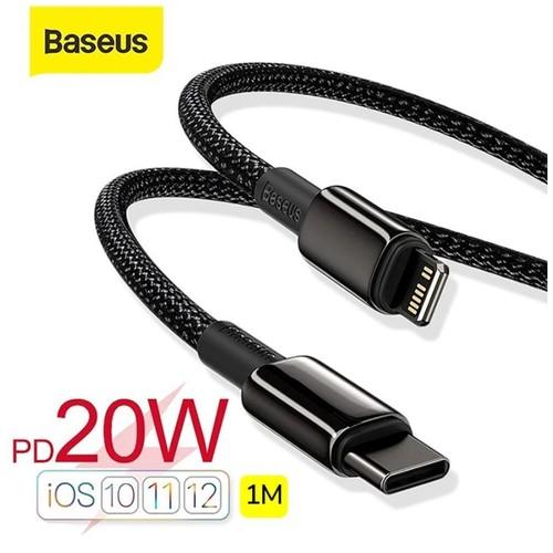 BASEUS Kabel Data iPhone 12 Type C to Lightning Fast Charging PD 20W
