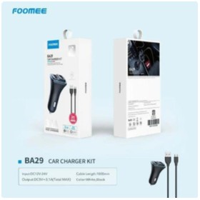 Foomee BA29 Car Charger Kit