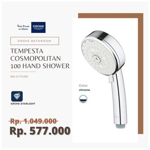 GROHE 27573002 - Tempesta Cosmopolitan 100 Hand Shower 4 Sprays