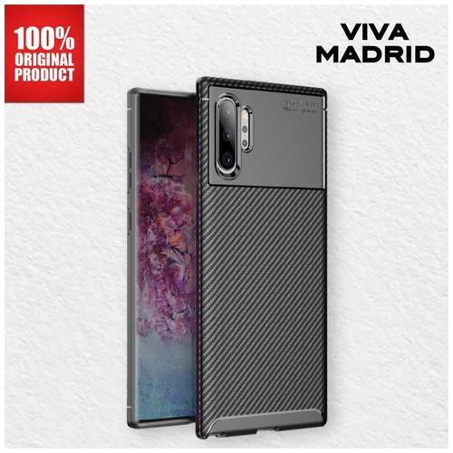 Casing Samsung Note 10 Plus Vanguard Shield Viva Madrid - Carbon