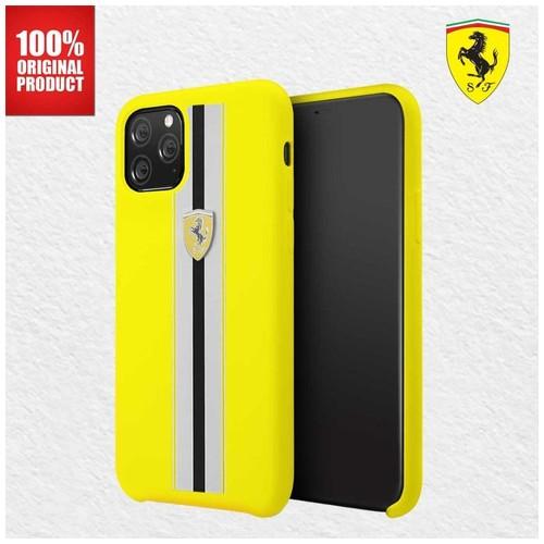 """Ferrari - Iphone 11 Pro Max 6.5"""" - On Track Pista Silicon - Yellow"""