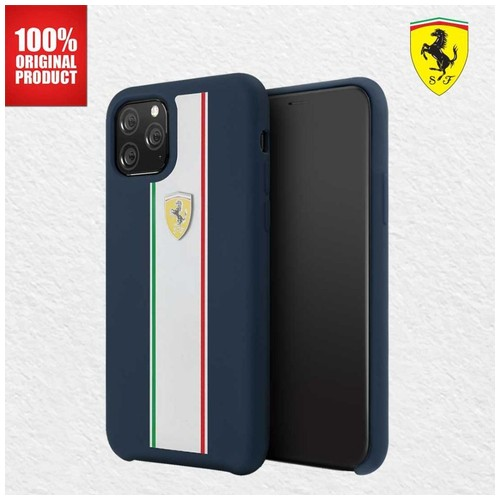"Ferrari - Iphone 11 Pro Max 6.5"" - On Track Pista Silicon - Navy"