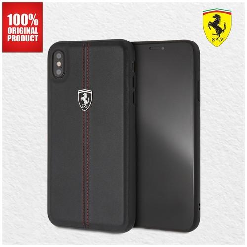 Ferrari - Off Track W Vertical - Iphone XS Max - STR Black