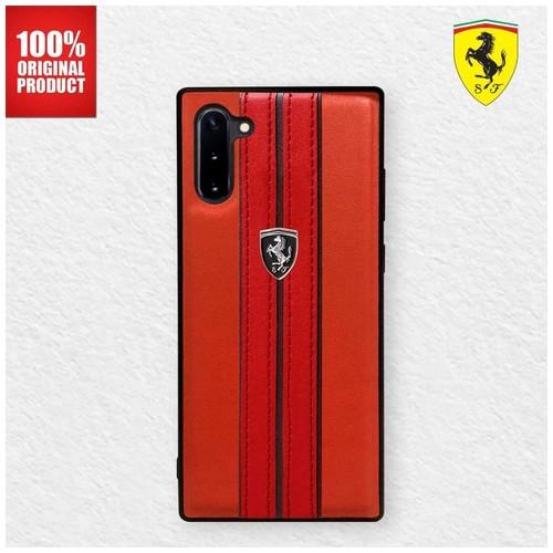 Casing Samsung Note 10 Urban Off Track Ferrari - Red