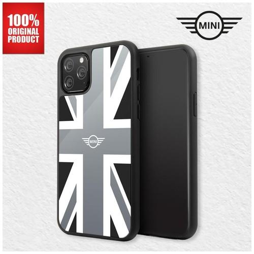 Mini Cooper - Union Jack Tempered Glass Case - Iphone 11 Pro Max 6.5
