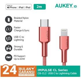 Aukey MFI Braided Nylon USB