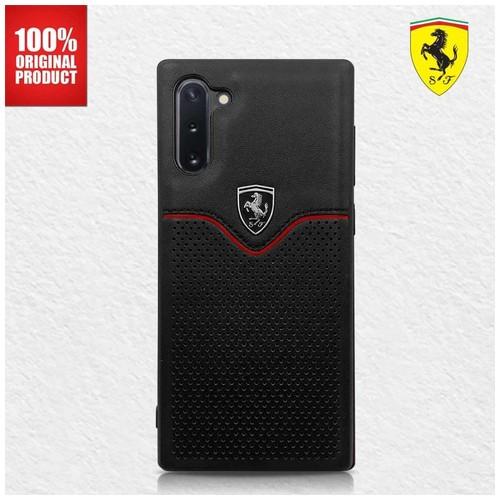 FERRARI - Off Track Victory PU Leather Case Galaxy Note 10 Black