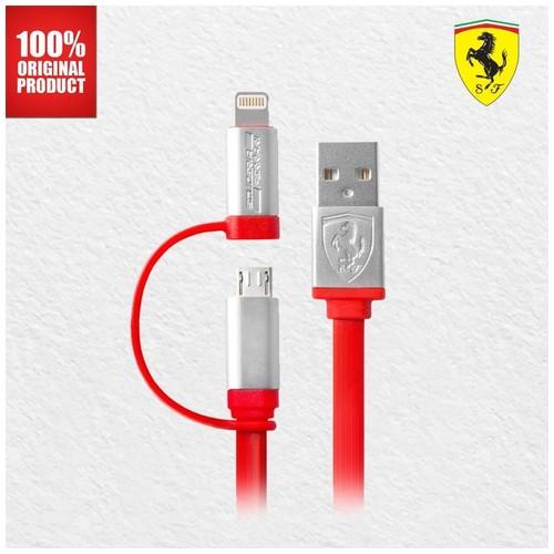 Ferrari - 2in1 Micro + Light MFI Red