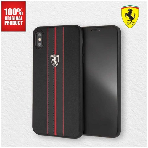 Ferrari - Iphone XS Max - Urban Off Track Logo - Black