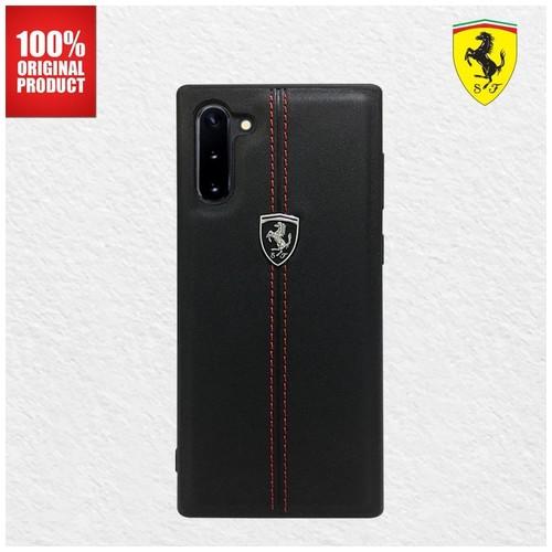 Ferrari - Off Track W Vertical - Case Samsung Galaxy Note 10 - Black