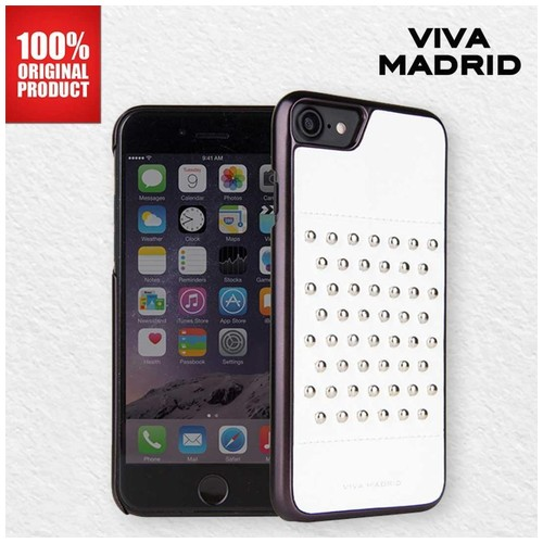 Casing iPhone 7 Plus / 8 Plus Tacho Viva Madrid - Blanc White
