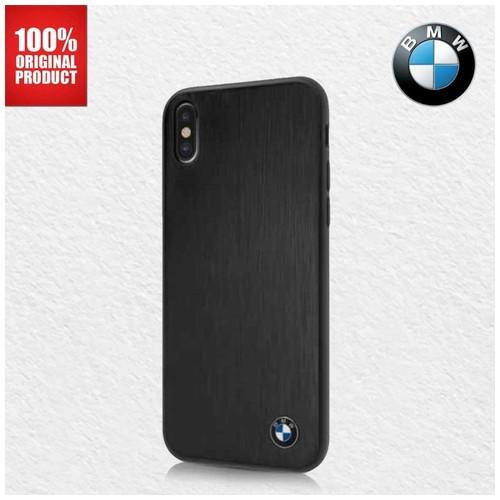 BMW Brushed Aluminium - Case iPhone X / XS - Black
