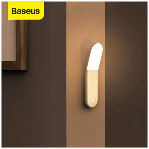 BASEUS Lampu Dinding Motion Sensor LED Warm Light - Aisle