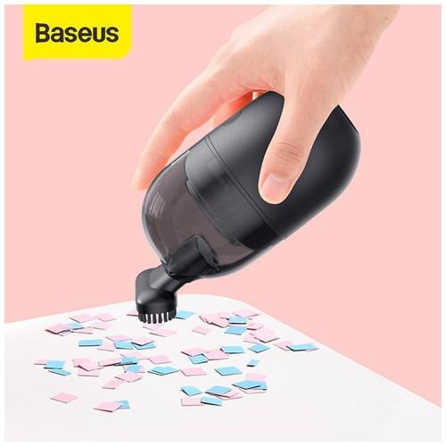 BASEUS C2 Mini Vacuum Cleaner Penghisap Debu Meja - Hitam
