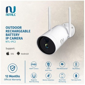 Notale Outdoor Rechargeable