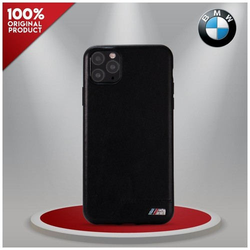 BMW - Smooth PU Leather Stripe iPhone 11 Pro Max 6.5