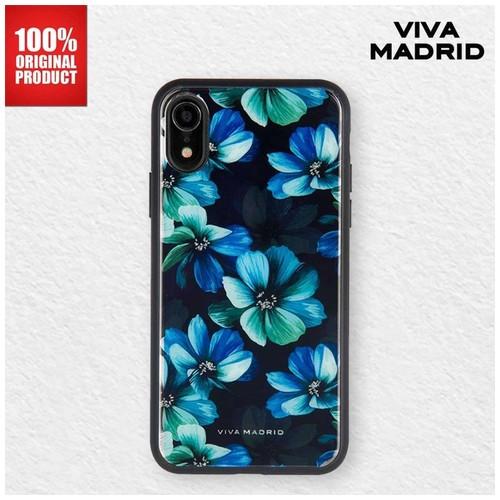 Casing iPhone XR Petalos Viva Madrid - Blu Verde