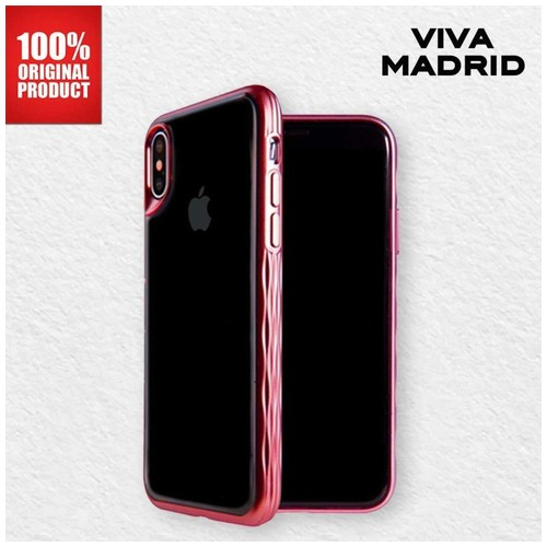 Casing iPhone X / XS Glosa Mist Viva Madrid - Red Ruby