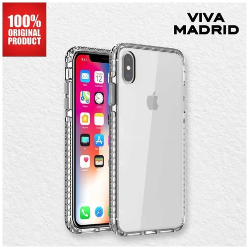 Viva Madrid Crystal Tough - Casing iPhone X - Clear