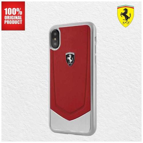 Ferrari Heritage Aluminium V-Stripe - iPhone X - Red