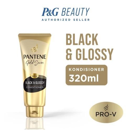 Pantene Kondisioner Pro-V Gold Series Black & Glossy 320ml