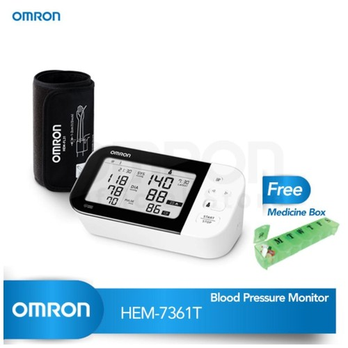 OMRON Tensimeter BPM HEM-7361T (With Bluetooth)