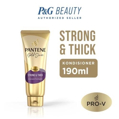 Pantene Kondisioner Pro-V Gold Series Strong & Thick 190ml
