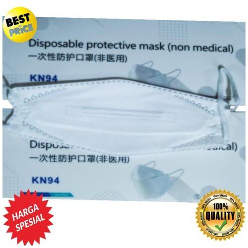 Masker KF94 4Ply Evo 3D Proctection Mask Isi 20Pcs-White