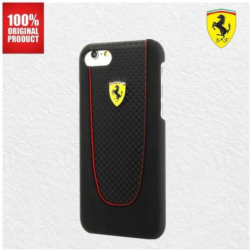 Ferrari SF Pit Stop PU - iPhone 7 Plus / 8 Plus  - Black