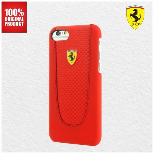 Ferrari  SF Pit Stop PU –  iPhone 7 Plus / 8 Plus - Red