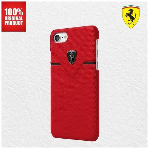 Ferrari Off Track Victory PU Leather - iPhone 7 Plus / 8 Plus - Red
