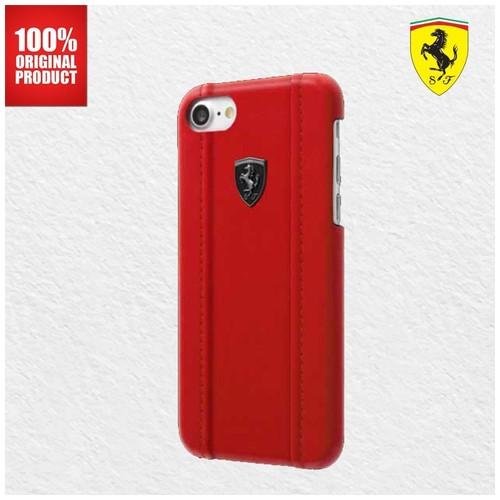 Ferrari Off Track Classic PU Leather Ferrari - iPhone 7 Plus / 8 Plus - Red