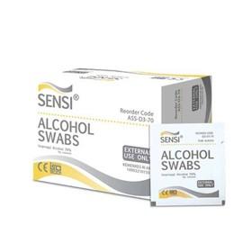 Sensi Alcohol Swabs 100 pcs