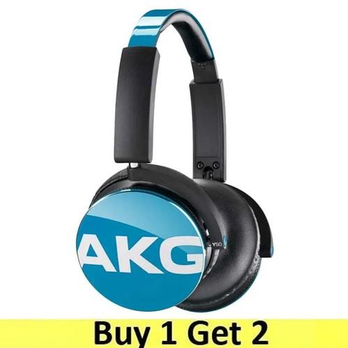 AKG On-Ear Headphone Y50 - Teal (Buy 1 Get 2)