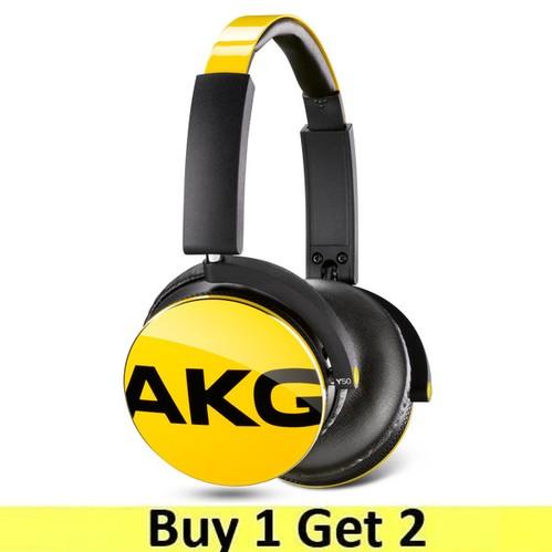 AKG On-Ear Headphone Y50 - Yellow (Buy 1 Get 2)