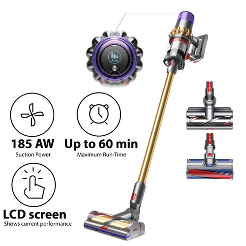 Dyson Cyclone V11 Absolute+ Vacuum - Gold