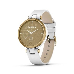 Garmin Lily - Leather Gold
