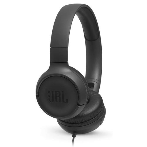 JBL Tune 500 Wired on-ear headphones - Black