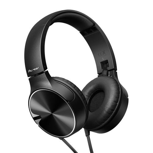 Pioneer Deep Bass Headphone SE-MJ722T(K) - Black