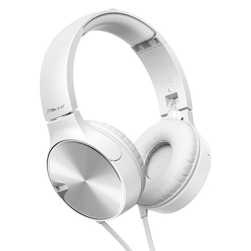 Pioneer Deep Bass Headphone SE-MJ722T(W) - White