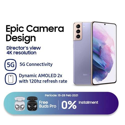 Samsung Galaxy S21+ (RAM 8GB/128GB) - Phantom Violet