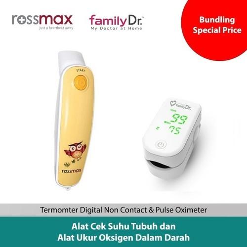 Rossmax Thermometer HA500 bundle Family Dr Oximeter FS10I